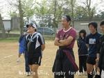 早稲田練 後藤コーチと河原崎選手
